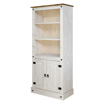 Knižnica CORONA biely vosk