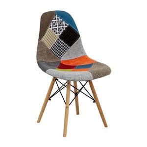 Jedálenská stolička UNO patchwork farebná