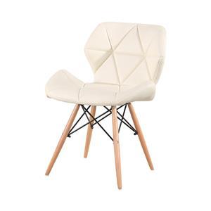Jedálenská stolička ALFA biela
